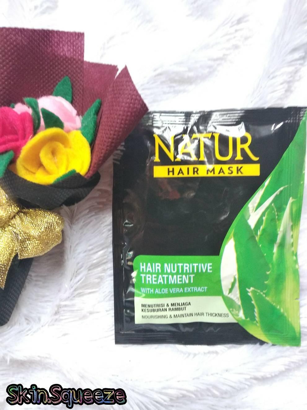 Natur Aloe Vera Extract & Olive Oil Hair Mask