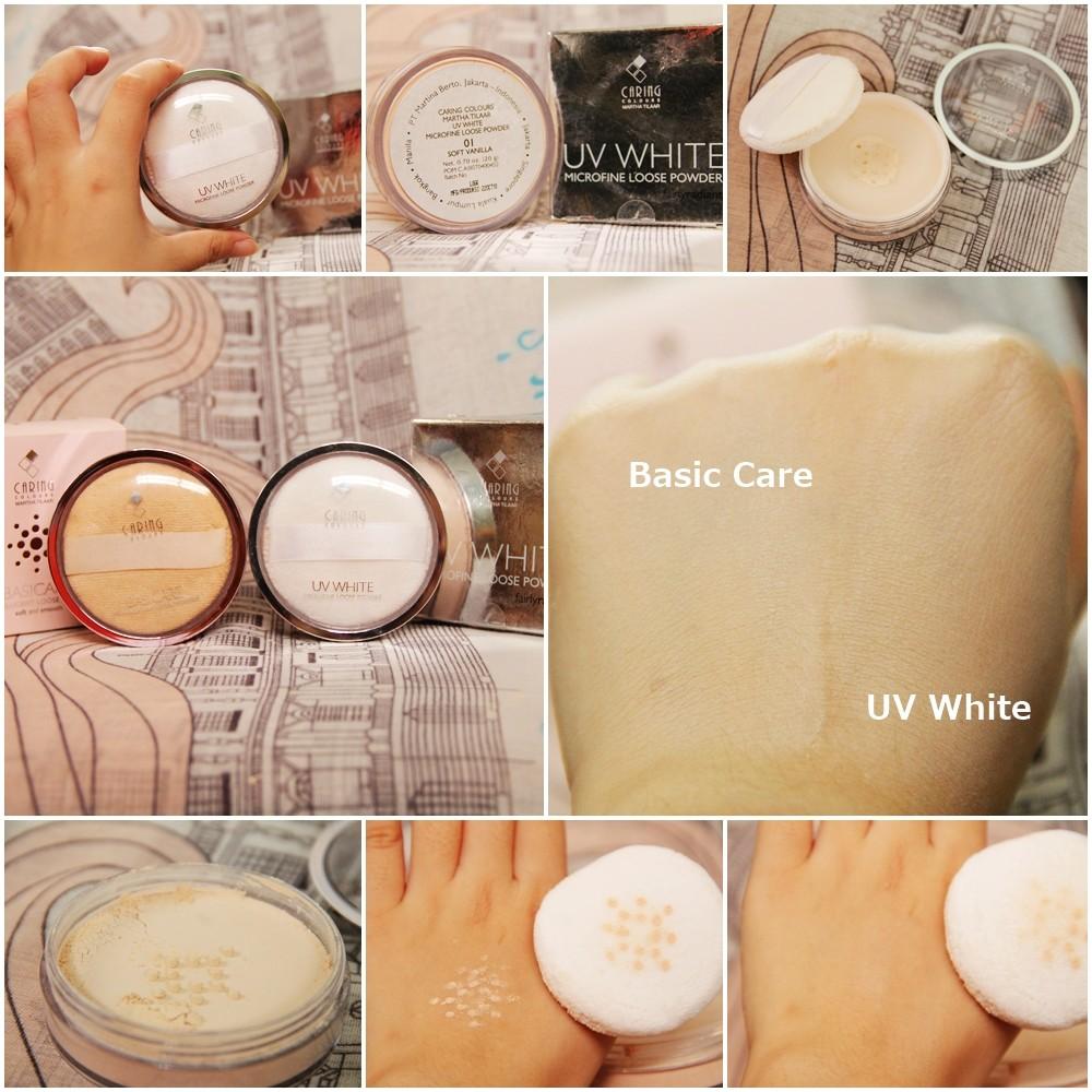 Caring Colours UV White Microfine Loose Powder