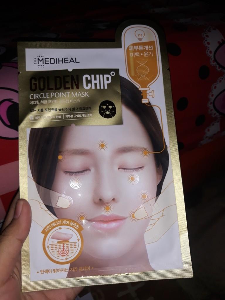 Mediheal Circle Point GoldenChip Mask